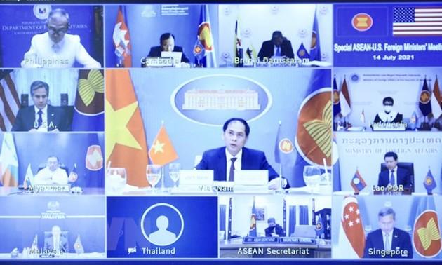 АСЕАН и США договорились активизировать диалоги и сотрудничество