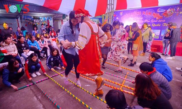 Ngày văn hóa quốc tế giúp sinh viên nước ngoài hiểu thêm về văn hóa Việt Nam