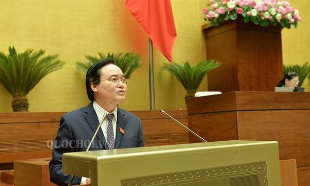Quốc hội nghe tờ trình, báo cáo thẩm tra dự án Luật sửa đổi và dự án Luật An ninh mạng