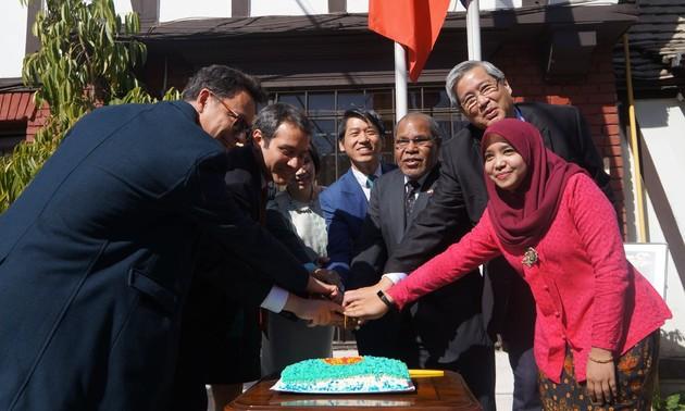 51 năm thành lập ASEAN: Đại sứ quán Việt Nam chủ trì hoạt động kỷ niệm tại Chile