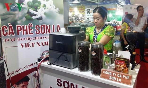 Ngày hội chỉ dẫn địa lý cà phê Sơn La tại Hà Nội