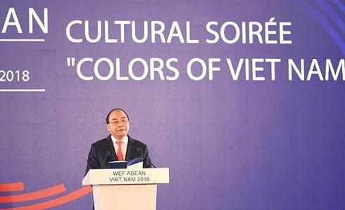 Thủ tướng Nguyễn Xuân Phúc chủ trì Dạ hội Quảng bá Văn hóa Việt Nam