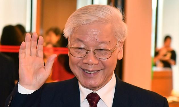Lãnh đạo các nước, các Đảng nước ngoài chúc mừng Tổng Bí thư Nguyễn Phú Trọng được bầu giữ chức vụ Chủ tịch nước