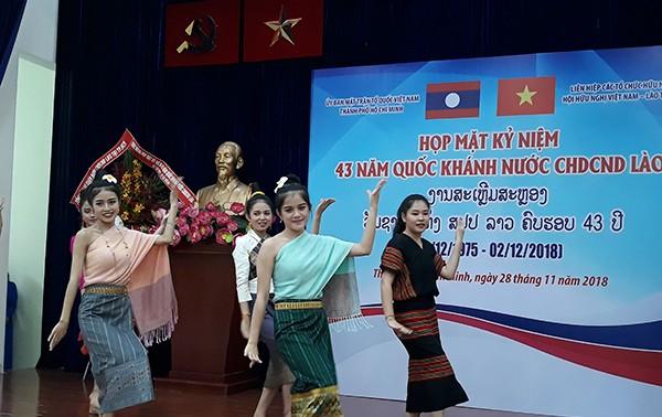Vun đắp, phát triển mối quan hệ hữu nghị đặc biệt giữa nhân dân hai nước Việt Nam - Lào