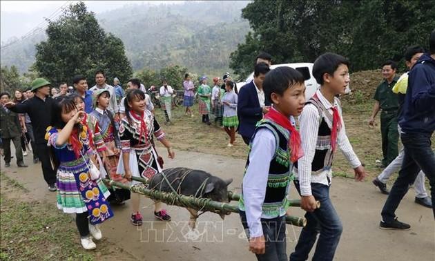 Lễ hội cúng rừng - nghi lễ truyền thống góp phần giữ gìn, bảo tồn rừng nguyên sinh ở Nà Hẩu, Yên Bái