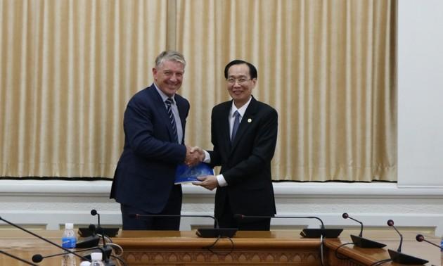 Thành phố Hồ Chí Minh và New Zealand tăng cường hợp tác thương mại và đầu tư