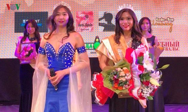 Nữ sinh Việt giành giải cao cuộc thi Miss Asia Ural, Liên bang Nga