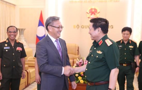 Không ngừng vun đắp mối quan hệ hữu nghị, truyền thống, đoàn kết đặc biệt Việt Nam - Lào