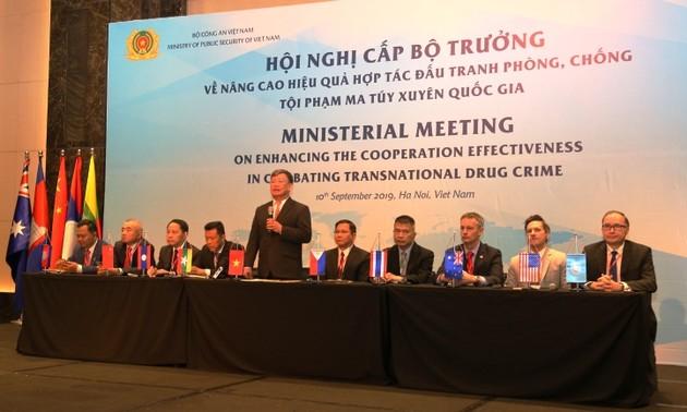Kết quả hội nghị cấp Bộ trưởng về phòng, chống ma túy xuyên quốc gia