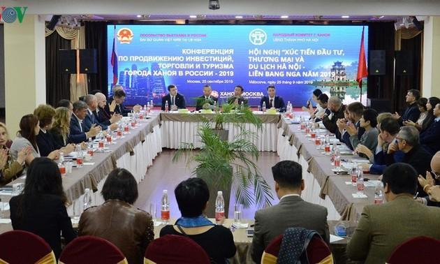 Xúc tiến đầu tư thương mại và du lịch Hà Nội tại Moscow