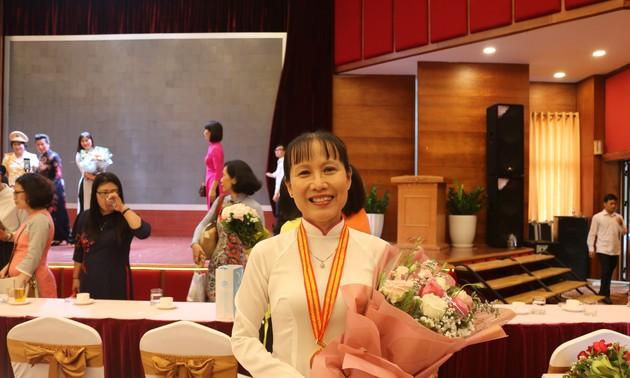 Giải thưởng Phụ nữ Việt Nam vinh danh các cá nhân, tập thể xuất sắc