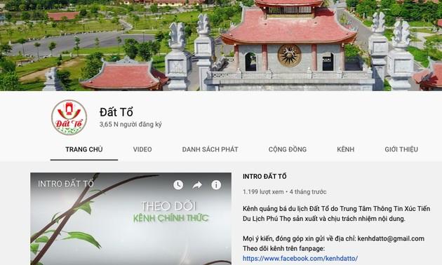 Ra mắt kênh Youtube Đất Tổ quảng bá du lịch, văn hóa, ẩm thực Phú Thọ