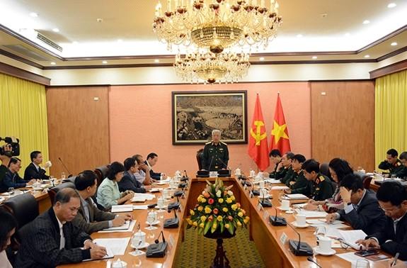 Thượng tướng Nguyễn Chí Vịnh tiếp các Trưởng Cơ quan đại diện Việt Nam tại nước ngoài