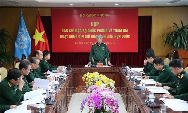 Việt Nam tham gia gìn giữ hòa bình  LHQ: Cơ bản hoàn tất chuẩn bị xuất quân của Bệnh viện dã chiến cấp 2 số 2