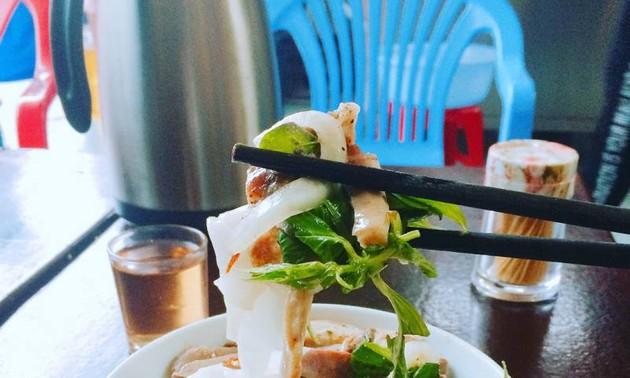 Bánh ướt lòng gà- thức ngon nơi phố núi Đà Lạt
