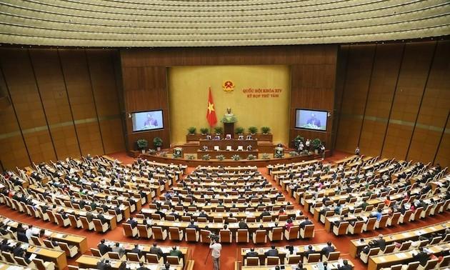 Quốc hội thảo luận cho ý kiến 4 dự án Luật
