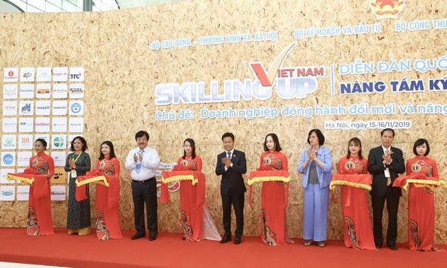 Khai mạc Diễn đàn quốc gia Nâng tầm kỹ năng lao động Việt Nam