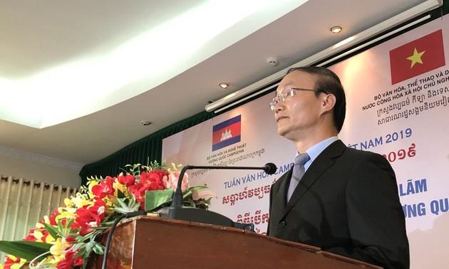 """Cần Thơ: Khai mạc Triển lãm """"Campuchia – Vương quốc Văn hóa"""""""