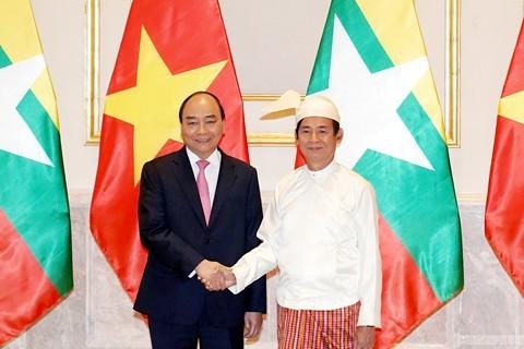 Thủ tướng kết thúc thăm Myanmar