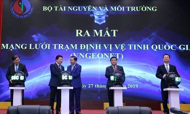 Việt Nam ra mắt mạng lưới trạm định vi vệ tinh tiêu chuẩn quốc tế