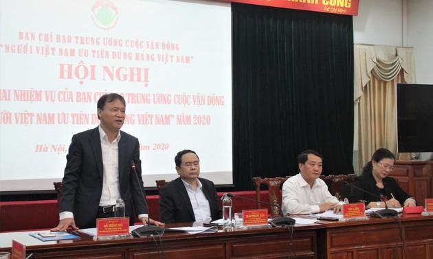 """Ban chỉ đạo Trung ương cuộc vận động """"Người Việt Nam ưu tiên dùng hàng Việt Nam"""" triển khai nhiệm vụ năm 2020"""