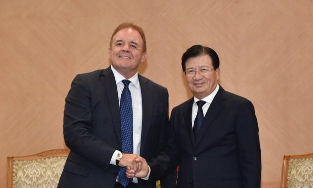 Phó Thủ tướng Trịnh Đình Dũng tiếp Tổng Giám đốc Tập đoàn Jadestone Energy