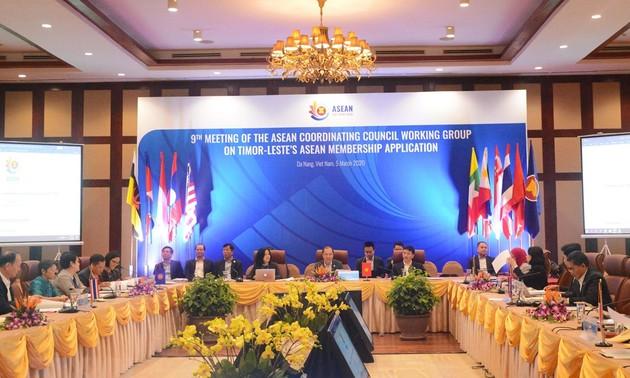 Cuộc họp lần thứ 9 Nhóm công tác Hội đồng Điều phối ASEAN
