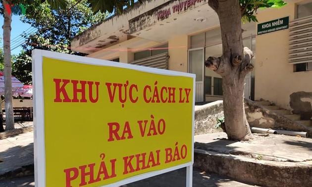 Sức khoẻ 9 ca nhiễm Covid-19 tại Bình Thuận ổn định