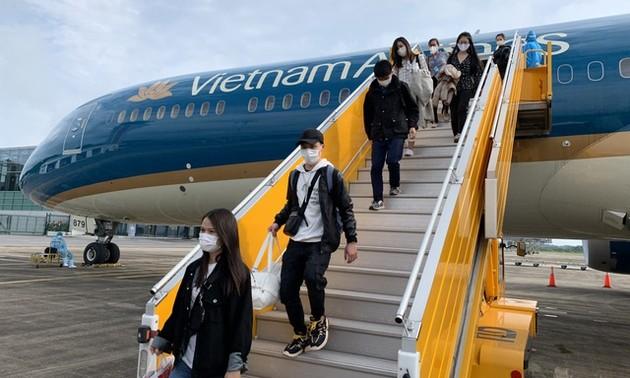 Sẽ có 13 chuyến bay đưa công dân Việt Nam về nước