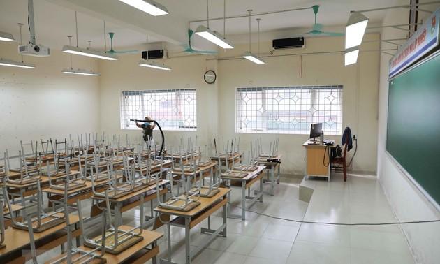 Các địa phương chuẩn bị sẵn sàng đón học sinh trở lại trường từ ngày 04/05