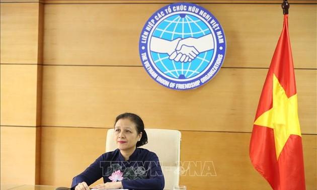 Hội nghị đặc biệt trực tuyến Lãnh đạo các tổ chức hữu nghị nhân dân ASEAN-Trung Quốc về ứng phó với Covid-19