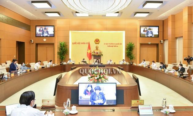 Quốc hội cho ý kiến 2 dự án Luật