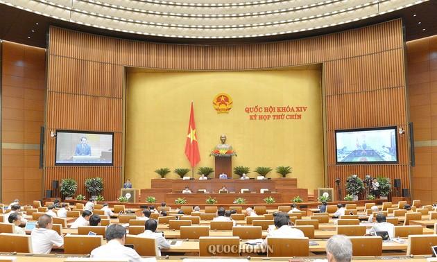 Quốc hội thảo luận về Luật tổ chức Quốc hội