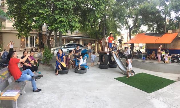 Sân chơi tái chế Think Playground- món quà tinh thần vô giá của trẻ thơ