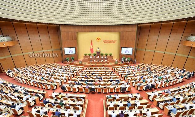 Quốc hội cho ý kiến vào nhiều nội dung quan trọng
