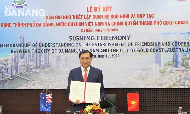Đà Nẵng thiết lập quan hệ hữu nghị, hợp tác với thành phố Gold Coast (Australia)