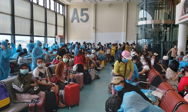 Đưa 343 công dân Việt Nam tại Đài Loan (Trung Quốc) về nước