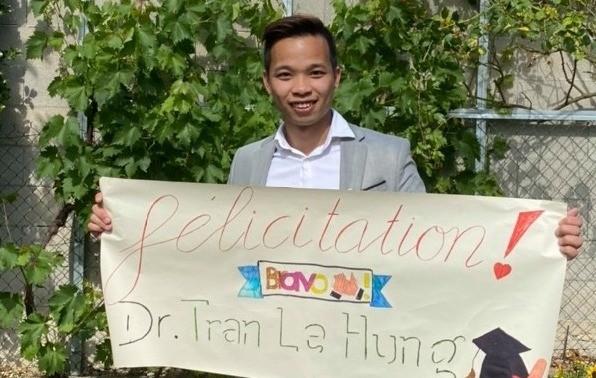 Tiến sĩ Trần Lê Hưng: Ở đâu có ý chí, ở đó có con đường