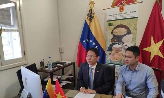 Việt Nam và Venezuela tăng cường xúc tiến thương mại