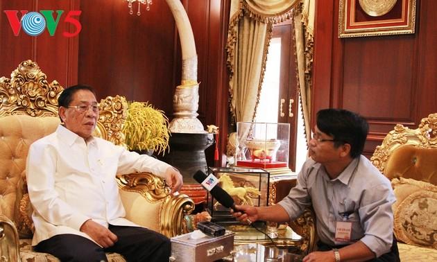 Tổng Bí thư Lê Khả Phiêu, người bạn lớn của Đảng và nhân dân Lào