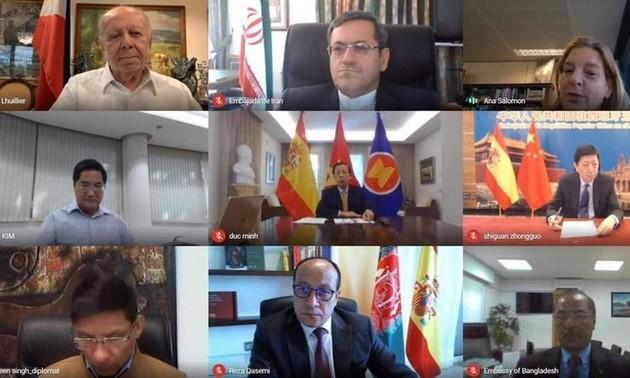 Việt Nam dự Hội nghị Nhóm các nước Châu Á – Thái Bình Dương tại Tây Ban Nha