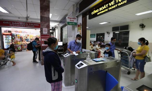 Ngành đường sắt triển khai phương thức trả vé tàu trên hệ thống bán vé điện tử