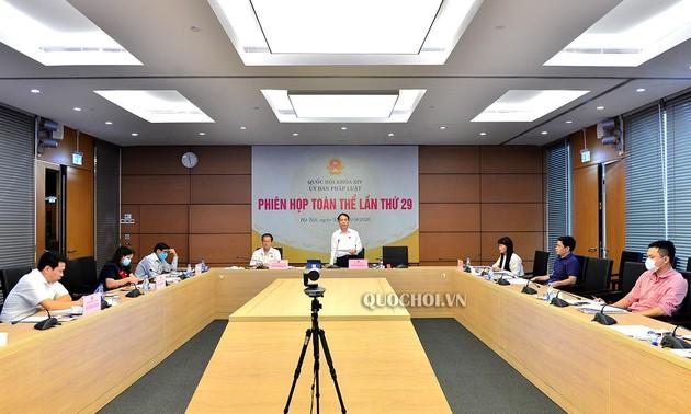 Ủy ban Pháp luật của Quốc hội thảo luận dự thảo  Luật Cư trú (sửa đổi)