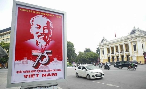 Lãnh đạo các nước gửi điện và thư mừng nhân dịp 75 năm quốc khánh Việt Nam