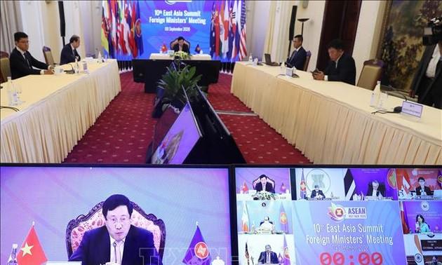 Конференция министров Восточной Азии: 15 лет сотрудничества и направления развития на новом этапе