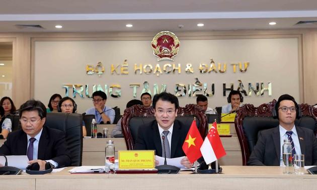 Xúc tiến đầu tư trực tuyến Việt Nam - Singapore