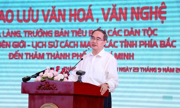 TPHCM giao lưu với 103 già làng, trưởng bản vùng biên giới phía Bắc Việt Nam