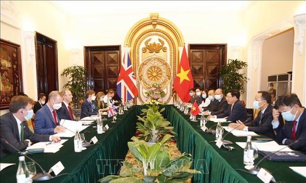 Anh mong muốn thúc đẩy Quan hệ Đối tác chiến lược với Việt Nam