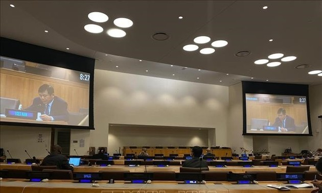Việt Nam kêu gọi hợp tác quốc tế thúc đẩy phổ cập vaccine chống COVID-19 tại Liên hợp quốc