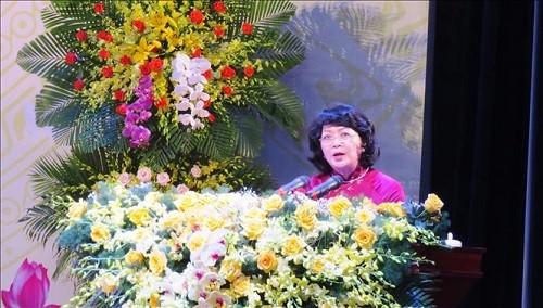 Phó Chủ tịch nước Đặng Thị Ngọc Thịnh dự Đại hội Thi đua yêu nước tỉnh Quảng Bình lần thứ V (2021-2025)